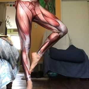 Muscle yoga pants